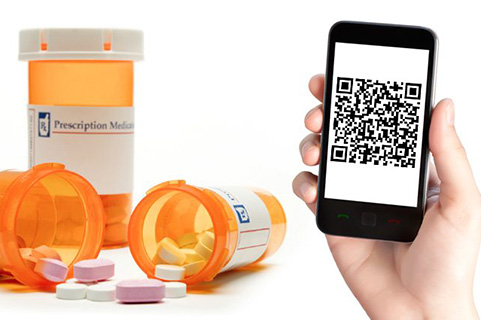 QR codes for medication instructions